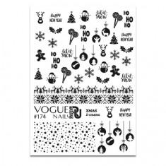 Vogue Nails, Слайдер-дизайн №174