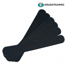 KrasotkaPro, Сменные картриджи для средней пилки, черные, 240 грит, 50 шт
