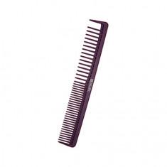 Dewal, Расческа Carbon Bordo, антистатическая, узкая, 17,5 см