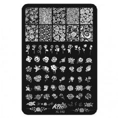 Klio Professional, Пластина для стемпинга №042