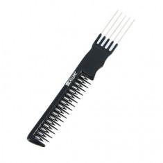 Dewal, Расческа «Эконом» фигурная для начеса, черная, 20,5 см