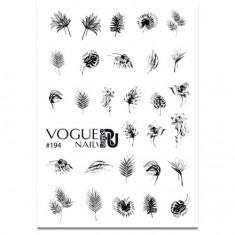 Vogue Nails, Слайдер-дизайн №194