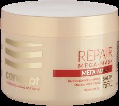 CONCEPT Маска для слабых и поврежденных волос Мега-уход / Salon Total Repair MEGA-MASK 500 мл