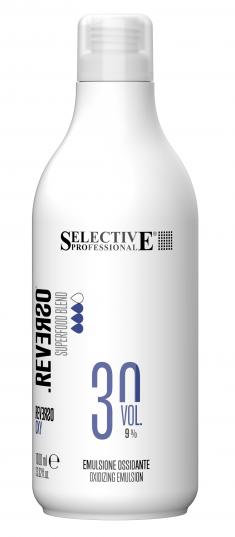 SELECTIVE PROFESSIONAL Эмульсия окисляющая 9% (30 vol) / REVERSO OXY 1000 мл