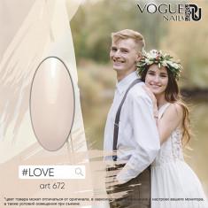 Vogue nails, Гель-лак #LOVE