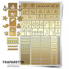 Trafaretto, Трафареты «Морской микс»