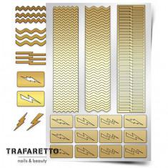 Trafaretto, Трафареты «Волны и молнии»