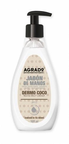 Agrado, Жидкое мыло «Кокос», 500 мл