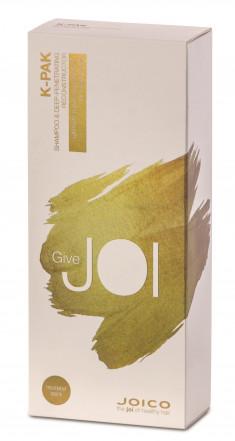 JOICO Набор для поврежденных волос (шампунь 300 мл, маска 150 мл) K-PAK