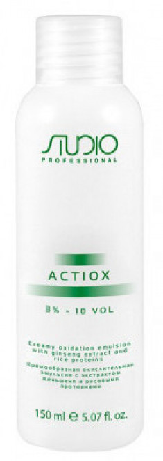 STUDIO PROFESSIONAL Эмульсия окислительная кремообразная с экстрактом женьшеня и рисовыми протеинами 3% / ActiOx 150 мл