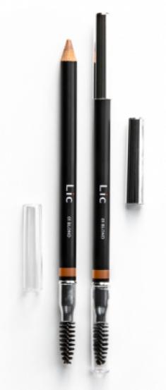 Карандаш пудровый для бровей Lic Eyebrow pencil 01 Blond