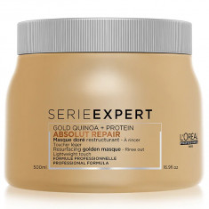 Loreal Absolut Repair Gold Quinoa + Protein Маска с золотой текстурой для восстановления поврежденных волос 500мл LOREAL PROFESSIONNEL