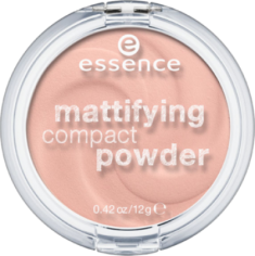 Пудра компактная Mattifying Compact Powder Еssence 10 light beige Essence