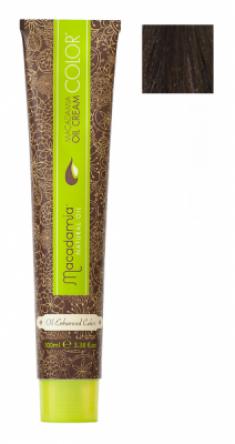 Краска для волос Macadamia Oil Cream Color 5.1 СВЕТЛЫЙ ПЕПЕЛЬНЫЙ КАШТАНОВЫЙ 100мл