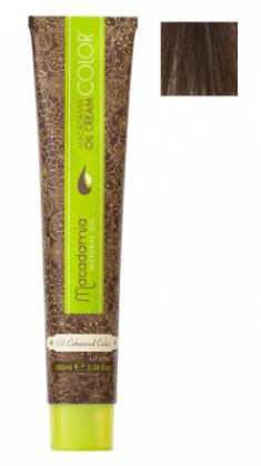 Краска для волос Macadamia Oil Cream Color 6.1 ТЕМНЫЙ ПЕПЕЛЬНЫЙ БЛОНДИН 100мл