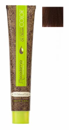 Краска для волос Macadamia Oil Cream Color 6.23 ТЕМНЫЙ ТЕПЛЫЙ ШОКОЛАДНЫЙ БЛОНДИН 100мл