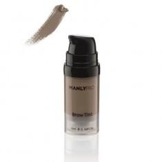Гелево-кремовый суперстойкий тинт для бровей Manly Pro Brow Tint матовый средний серо-коричневый ET09 12мл